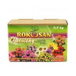 Hnojivo Rokosan, letničky a balkónové kvety, 0,5 kg