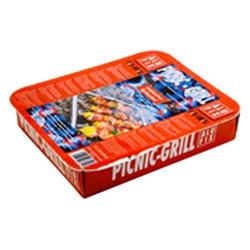 Gril Alufix PICNIC-GRILL, jednorázové, 12 ks